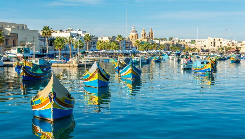 Marsaxlokk, Malta- tuviajedegrupo