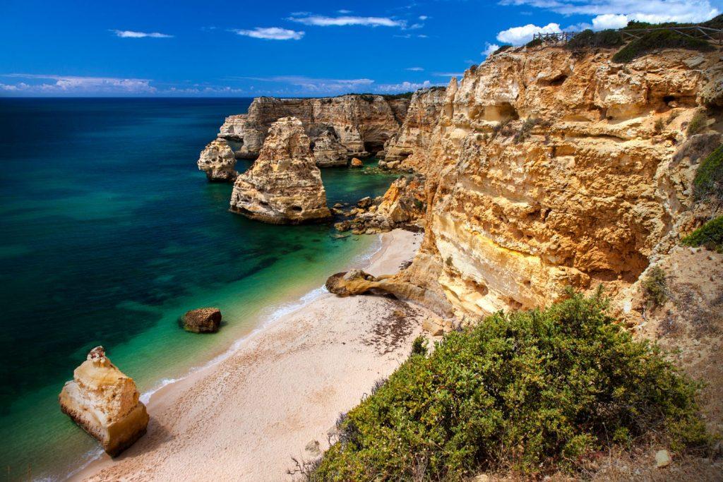 playa Marihna - Algarve-tuviajedegrupo