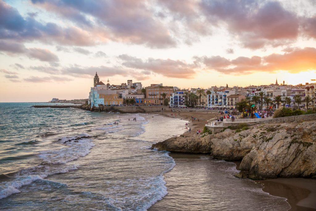 playas espana fiesta